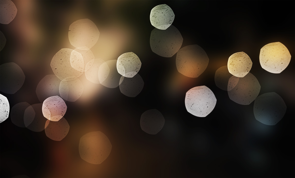 Bokeh Particles example